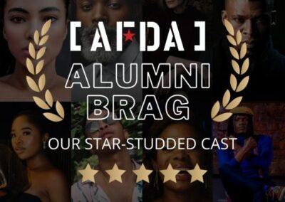 AFDA BRAG OUR STAR-STUDDED CAST
