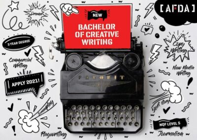 AFDA LAUNCH NEW CUTTING EDGE BACHELOR OF CREATIVE WRITING DEGREE COURSE FOR 2021