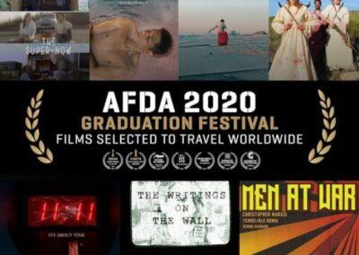 AFDA 2020 GRADUATION FILMS SELECTED TO TRAVEL WORLDWIDE