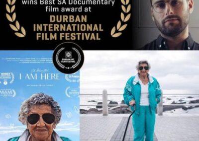 AFDA ALUMNUS JORDY SANK WINS BEST SA DOCUMENTARY FILM AWARD AT DURBAN INTERNATIONAL FILM FESTIVAL