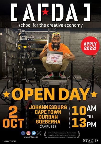OPEN DAY 2 OCTOBER
