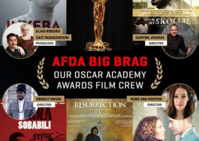 AFDA BIG BRAG OUR OSCAR ACADEMY AWARDS FILM CREW