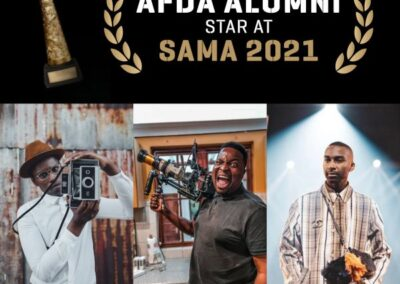 AFDA ALUMNI STAR AT SOUTH AFRICAN MUSIC AWARDS 2021