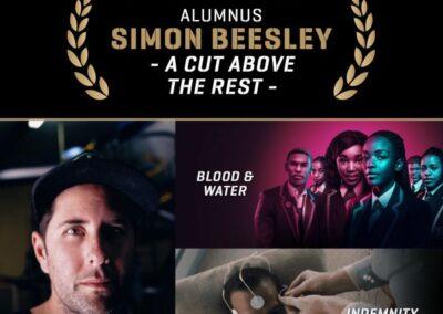 AFDA ALUMNUS SIMON BEESLEY – A CUT ABOVE THE REST
